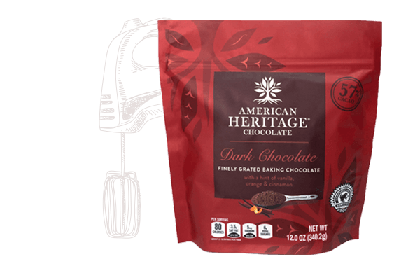 AMERICAN HERITAGE Finely Grated Baking Chocolate