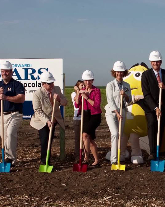 Mars Topeka Kansas Groundbreaking
