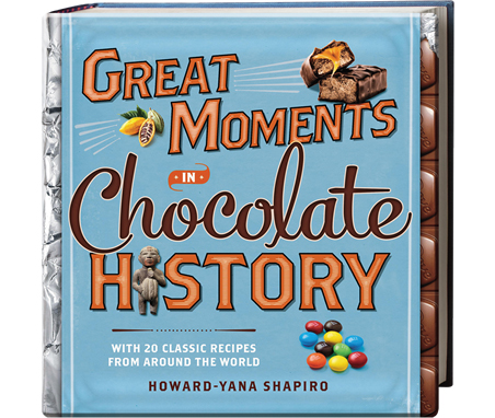 great moments in chocolate history book cover
