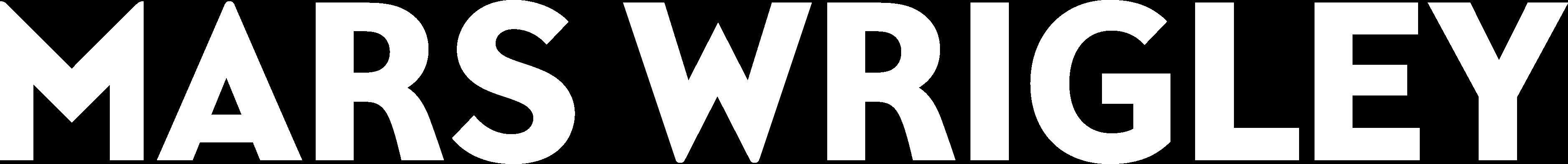 mars wrigley logo white
