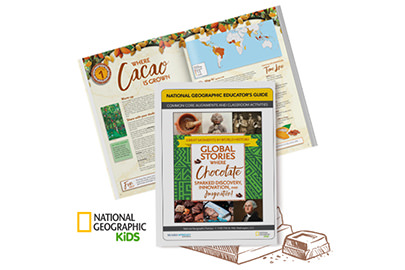 National Geographic Global Chocolate Stories Booklet